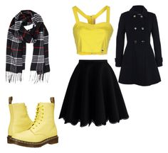 """""""Untitled #352"""" by julie-201 on Polyvore featuring Humble Chic, Chicwish, Fornarina, Dr. Martens, Miss Selfridge, women's clothing, women, female, woman and misses"""
