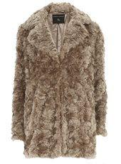 Mink Boyfriend Faux Fur Coat