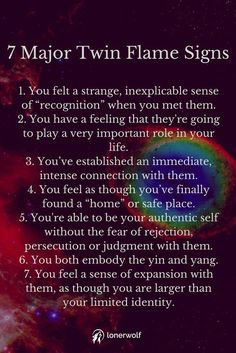Authentic Twin Flame Signs (+ Free In-Depth Guidance Twin flames are people who help us to spiritually evolve. There are 20 twin flame signs in total .Twin flames are people who help us to spiritually evolve. There are 20 twin flame signs in total . Twin Flame Relationship, Relationship Quotes, Life Quotes, Relationships, Emo Quotes, Scorpio Quotes, Magic Quotes, Qoutes, Karma