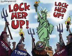 Phil Hands Editorial Cartoon, July 24, 2016     on GoComics.com