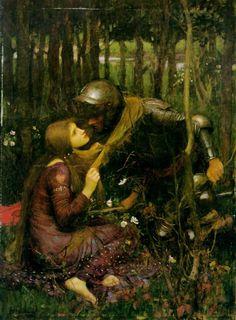 The Beautiful Lady Without Pity - John William Waterhouse