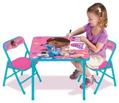 Disney Doc McStuffins Activity Table Set *** See this great product.