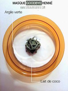Le blog du cheveu: Faire dégorger, éclaircir, son henné naturellement  solution1→ deux hennés blonds enrichis d'huile d'olive et de miel posés respectivement 3h et 1h (ce furent mes derniers hennés car j'arrête pour de bon)  s2→un masque à l'argile avec du lait de coco  s3→plusieurs shampooings à base d'huile essentielle de camomille  s4→deux masques d'argile pure posés 30 min sur cheveux humides  La technique qui a le mieux fonctionné est le masque à l'argile.