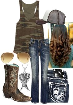 """""""county fair"""" by makenzie-eckhardt on Polyvore #fashion"""