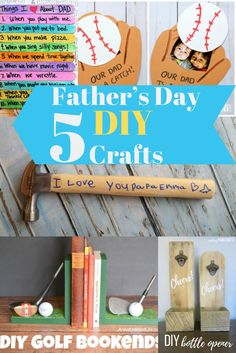 There's nothing better than receiving something that was made with love. Men are sentimental too, just like women. So, I found 5 of my favorite DIY Father's Day crafts for kids and moms to make together for Daddy. Diy Father's Day Crafts, Father's Day Diy, Crafts To Make, Daddy Gifts, Fathers Day Gifts, Fathersday Crafts, Silly Songs, Decoration, Art Decor