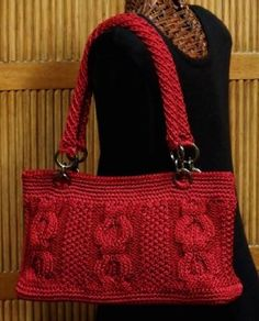 Creative Yarn Source/Crochet Style Etc Autumn Bag.  Pattern is free for a limited time, which I was able to download still today. :)