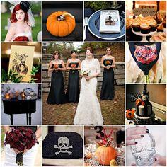 "Wedding Theme: Halloween - ""Till Death Do Us Part"""