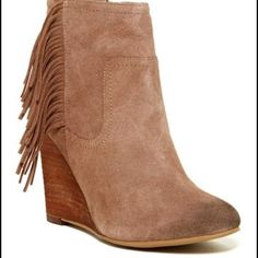 Abound Peyton Lea Wedge Bootie Worn a few times. Great condition! Shoes Ankle Boots & Booties