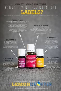 Young Living Bottles Explained