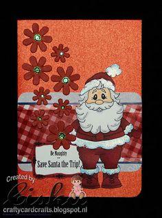 Using Standing Santa