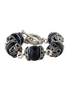 $142.00  Stephen Dweck Agate Bead Bracelet