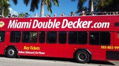 Miami Double Decker City Tour