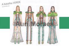 Auriele (desenhos de Moda): Trabalhos