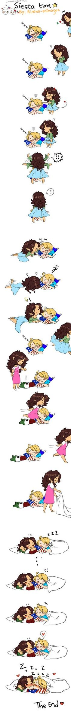 hetalia- Even though my Headcannon is different this is really cute