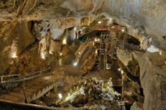 Crystal Caves, near Kutztown, Pa discovered in 1871 , visited there as a child and with Sue