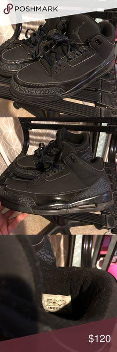 "best loved 15632 77f0b Jordan 3 ""Black Cat"" Rare Jordan 3 Black Cat good condition. Size 11"