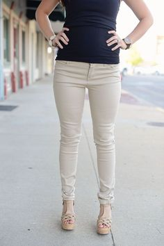 Crave Boutique - SKINNY JEANS-TAUPE, $26.00 (http://www.shopcravenow.com/skinny-jeans-taupe/)