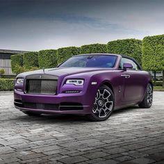 Rolls Royce Dawn Black Badge in Iced Twilight Purple over purple  Rolls Royce Dawn, Rolls Royce Cullinan, Motor Car, Cool Cars, Twilight, Super Cars, Badge, Automobile, Luxury