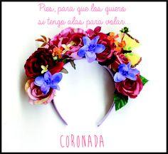Flower Crown!  Vinchas coronada. www.facebook.com/accesorioscoronada