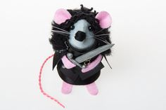 Hey, I found this really awesome Etsy listing at https://www.etsy.com/listing/384448706/new-jon-snow-mouse-game-of-thrones