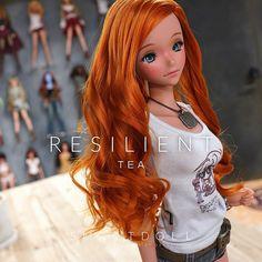 Smart Doll, Anime Figures, Tee Design, Kyushu, Wonder Woman, Dolls, Superhero, Disney Princess, Tees