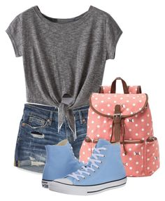 """""""Today's style"""" by andreastoessel ❤ liked on Polyvore featuring Aéropostale, Candie's and Converse"""