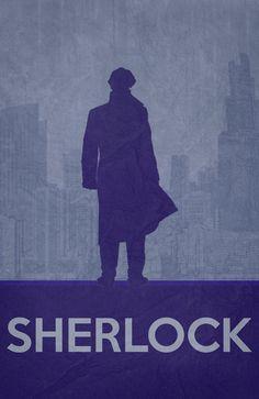 Sherlock Poster 01 Art Print by Misery | Society6
