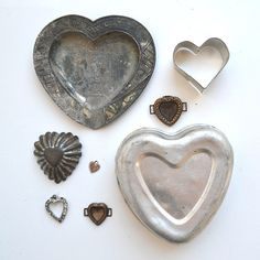 vintage hearts INSTANT COLLECTION...on Etsy