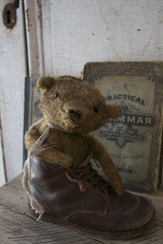 sweet little tattered teddy