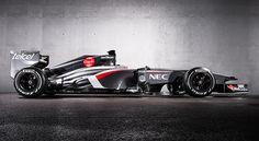 Sauber C32 Ferrari engine. F1 2013
