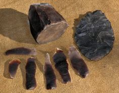 Here's How To... Make an Arrowhead. Flintknapping is the making of flaked or chipped stone tools. This technology was used in historic times to manufacture gun flints and in prehistoric times to make spear and dart points, arrow heads, knives, scrapers, blades, gravers, perforators, and many other tools. For a quick cutting or scraping tool, hammer at a flint rock to break off slivers till you get one with a sharp edge and you have a quick knife.