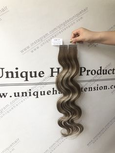 Tape hair extensions factory, body wave texture with factory price, the hair very soft, tangle free no shedding, can last long time, have many different fashion color tape in hair extensions ready to ship, contact our factory to get your wholesale price! Qingdao Unique Hair Products Co.,Ltd. www.uniquehairextension.com order@uniquehairextension.com Whatsapp: +8613553058361 Balayage Color, Tape In Hair Extensions, Unique Hairstyles, Color Ring, Body Wave, Fashion Colours, Virgin Hair, Qingdao, Hair Color