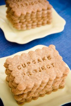 Homemade Biscoff Cookies / homemade specculoos are simple to make and hugely rewarding. They are even more fun when you write a custom message on them! Bis...