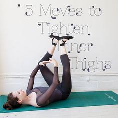 Inner Thigh Workout: Ballet-Inspired Moves | YouBeauty