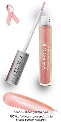 Vapour Organic Beauty Elixir  Plumping gloss in HONOR #BCA
