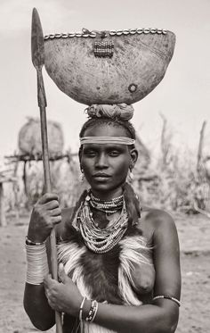 Traditional, Dassanech Tribe, Ethiopia by Rod Waddington