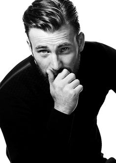 Chris Evans photographed by Mark Mann