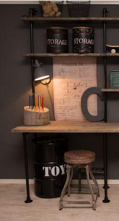 Boy Room, Kids Room, Office Setup, Corner Desk, Storage, Toys, Furniture, Kai, Home Decor