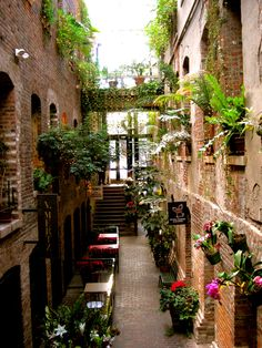 Danish Passageway--Old Market, Omaha-Love this area of the Old Market!