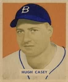 1949 Bowman Hugh Casey