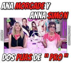 """Esta escena de las dos Anas parodiando a dos pijas no tiene desperdicio. ¡¡ Lo bordan !! Ana Morgade y Anna Simon son dos pijas """"muy cuquis"""""""
