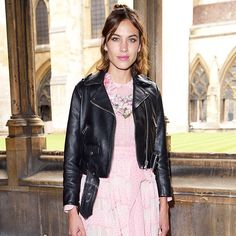 No One Saw This Alexa Chung News Coming via @WhoWhatWear