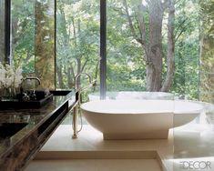 A Glass Bathroom