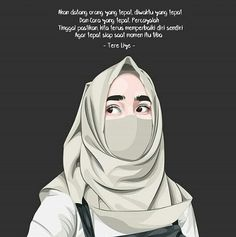 Trendy Quotes About Moving On From Love Feelings Smile Couple Quotes, Girl Quotes, Love Quotes, Quotes Sahabat, Ideas Hijab, Quotes About Moving On From Love, Islamic Posters, Islamic Cartoon, Anime Muslim