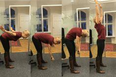 Bättre hälsa på jobbet! 8 övningar du kan göra vid skrivbordet.