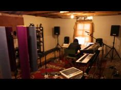 Film clips and docos from the Gotye records Making Mirrors, Like Drawing Blood and Boardface. Recording Studio Home, Home Studio, Music Ed, Music Is Life, Writing Studio, Studio Setup, Studio Ideas, Backyard Sheds, Fence Design