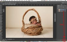 How to blend your floor and background together in Photoshop photo
