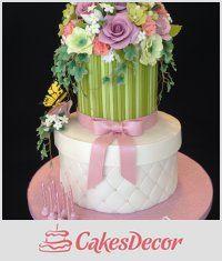 CakesDecor Theme: Hat Box & Gift Box Cakes - CakesDecor