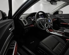 The cockpit of the TLX, like every Acura, is designed with precision crafted performance in mind. This means you're comfortable in a traffic jam, and when the road opens up, so does your engine. Your morning commute is a perfect balance of thoughtful and thrilling.