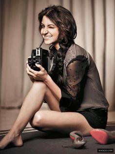 Anushka Sharma, goals. goals. goals